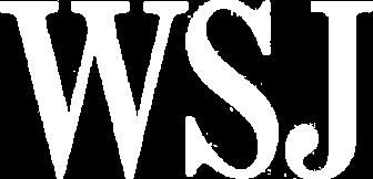 Wsj logo white